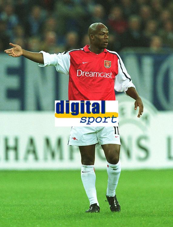 Fotball: Sylvian Wiltord, Arsenal.<br /><br />Foto: Uwe Speck, Digitalsport