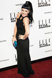 © Licensed to London News Pictures. 18/02/2014. London, UK.Lily Allen attends the ELLE Style Awards 2014 at One Embankment in central London. Photo credit : Andrea Baldo/LNP