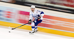 13.02.2016, Olympiaworld, Innsbruck, AUT, Euro Ice Hockey Challenge, Österreich vs Frankreich, im Bild Damien Fleury (FRA) // Damien Fleury of France during the Euro Icehockey Challenge Match between Austria and France at the Olympiaworld in Innsbruck, Austria on 2016/02/13. EXPA Pictures © 2016, PhotoCredit: EXPA/ Jakob Gruber