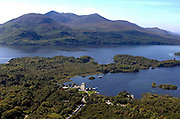 An aerial picture of Ross Castle, Killarney in Killarney National Park..Picture by Don MacMonagle