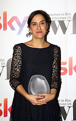 Sarah Gavron received the Deluxe director award at the Women in Film & TV Awards at the Hilton hotel in central London.