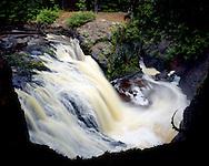 Amnicon Falls State Park, Wisconsin, June, 1987.