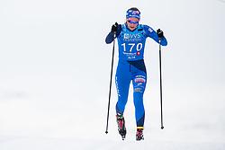 April 6, 2018 - Alta, NORWAY - 180406 Ingrid Leuckfeld Pedersen competes in the Women's 5 km Classic during the Norwegian Championship on April 6, 2018 in Alta..Photo: Jon Olav Nesvold / BILDBYRÃ…N / kod JE / 160235 (Credit Image: © Jon Olav Nesvold/Bildbyran via ZUMA Press)