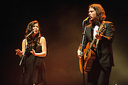 The Civil Wars performing at The Pageant in St. Louis, Missouri on January 15, 2012.