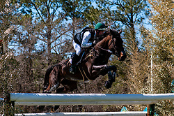 March 22, 2019 - Raeford, North Carolina, US - March 23, 2019 - Raeford, N.C., USA - TIM BOURKE of Ireland riding QUALITY TIME competes in the cross country CCI-4S division at the sixth annual Cloud 11-Gavilan North LLC Carolina International CCI and Horse Trial, at Carolina Horse Park. The Carolina International CCI and Horse Trial is one of North AmericaÃ•s premier eventing competitions for national and international eventing combinations, hosting International competition at the CCI2*-S through CCI4*-S levels and National levels of Training through Advanced. (Credit Image: © Timothy L. Hale/ZUMA Wire)