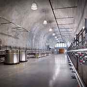 Various Angles and Vantages from Clos de la Tech Winery Industrial Infrastructure- Architectural Photography Example of Chip Allen's work.