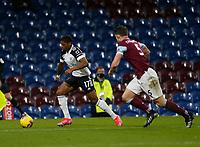 Football - 2020 / 2021 Premier League - Burnley vs. Fulham<br /> <br /> Ivan Cavaleiro of Fulham goes past James Tarkowski of Burnley, at Turf Moor.<br /> <br /> <br /> COLORSPORT/ALAN MARTIN