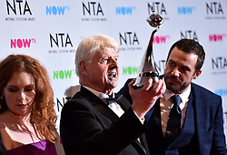 Stanley Johnson at the National Television Awards 2018 held at the O2 Arena, London. PRESS ASSOCIATION Photo. Picture date: Tuesday January 23, 2018. See PA story SHOWBIZ NTAs. Photo credit should read: Matt Crossick/PA Wire