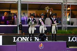 Von Bredow-Werndl Jessica, GER, Werth Isabel, GER, Dufour Catherine, DEN<br /> European Championship Dressage - Hagen 2021<br /> © Hippo Foto - Dirk Caremans<br /> 09/09/2021