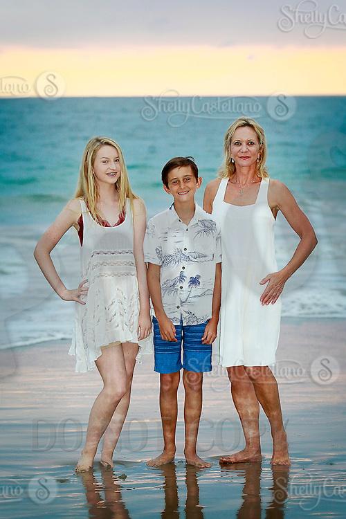 16 October 2015: Karen, Alexandra, Nicholas Pierce family photos in Emerald Bay, CA.