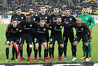 LVIV, UKRAINE - DECEMBER 07: Athletic Bilbao team. UEFA Europa League Group J match between Zorya Luhansk and Athletic Bilbao at Arena Lviv in Lviv, Ukraine. December 07, 2017