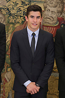 Marc Marquez during Royal Audience with King Felipe VI of Spain at Zarzuela Palace in Madrid, Spain. November 20, 2014. (ALTERPHOTOS/Victor Blanco)