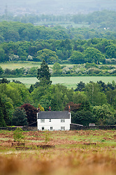 Country cottage on the edge of Bradgate Park, Leicestershire, England, United Kingdom.