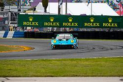 DAYTONA, FLORIDA - JANUARY 23, 2020: Wright Motorsports, Klaus Bachler, Ryan Hardwick, Anthony Imperato and Patrick Long driving the Porsche 911 GT3 R during the 58th running of the IMSA WeatherTech Sports Car Championship Rolex 24 at Daytona International Speedway.