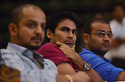 NEW DELHI,INDIA – JULY 27: Cricketer Virender Sehwag, Mohd.Kaif and Murli Kartik during UNICEF celebrates a ''Polio Free India'' function in New Delhi.(Photo by K.Asif/India Today Group) *** Local Caption *** Virender Sehwag;Mohd.Kaif;Murli Kartik (Credit Image: © India Today/ZUMA Wire)