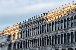 General views of St Mark's Square in Venice. From a series of travel photos in Italy. Photo date: Tuesday, February 12, 2019. Photo credit should read: Richard Gray/EMPICS Entertainment