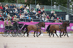 Timmerman Theo, NED, Balero, Boy, Dakota, Esprit, Mister<br /> FEI European Driving Championships - Goteborg 2017 <br /> © Hippo Foto - Dirk Caremans