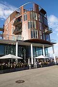 Suite Hotel building, Svolvaer, Lofoten Islands, Nordland, Norway