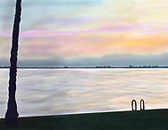 Caloosahatchee River at dawn