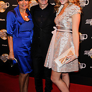 NLD/Amsterdam/20120217 - Premiere Saturday Night Fever, Sandra Reemer, Addy van den Krommenacker en Liza Sips