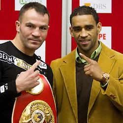 20110214: SLO, Boxing - Dejan Zavec/Jan Zaveck vs Paul Delgado press conference