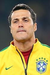 Júlio César, goleiro da Seleção Brasileira de Futebol. FOTO: Jefferson Bernardes/ Agência Preview
