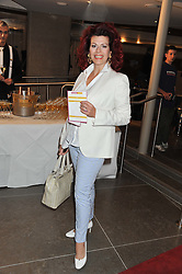 CLEO ROCOS at the opening of the new St.James Theatre, 12 Palace Street, London SW1 on 13th September 2012.