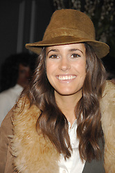 LOUISE ROE at the opening party of hairdresser Paul Edmond's new salon at 217 Brompton Road, London SW3 on 18th March 2008.<br />
