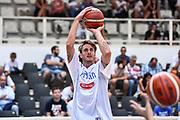 DESCRIZIONE : Trento Nazionale Italia Maschile Trentino Basket Cup Italia Paesi Bassi Italy Netherlands <br /> GIOCATORE : Achille Polonara<br /> CATEGORIA : Tiro Before Pregame Riscaldamento<br /> SQUADRA : Italia Italy<br /> EVENTO : Trentino Basket Cup<br /> GARA : Italia Paesi Bassi Italy Netherlands<br /> DATA : 30/07/2015<br /> SPORT : Pallacanestro<br /> AUTORE : Agenzia Ciamillo-Castoria/GiulioCiamillo<br /> Galleria : FIP Nazionali 2015<br /> Fotonotizia : Trento Nazionale Italia Uomini Trentino Basket Cup Italia Paesi Bassi Italy Netherlands