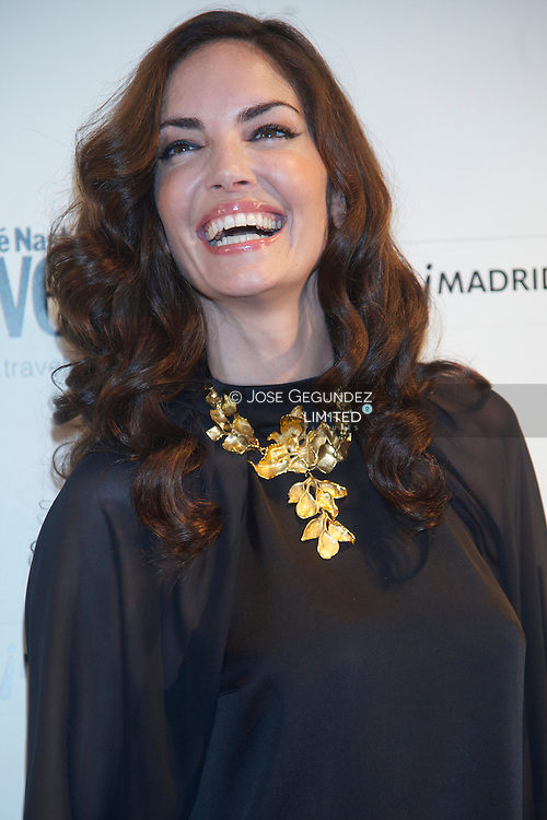 Eugenia Silva attend Conde Nast Traveler 2013 awards photocall at Cecilio Rodriguez garden on April 25, 2013 in Madrid, Spain.