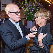 NLD/Amsterdam/20130921 - Uitreiking Awards, Frans Mulder en Anneke Grönloh