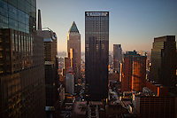 NEW YORK - 11/29/12 - The Allianz Building as seen from the 34th floor of the Time & Life Building in Manhattan. <br /> <br /> Photo by Robert Caplin