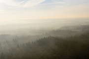 Nederland, Utrecht, Baarn, 18-01-2016;<br /> de bossen van Hooge Vuursche met winterse nevel.<br /> Forests with wintry mist.<br /> luchtfoto (toeslag op standard tarieven);<br /> aerial photo (additional fee required);<br /> copyright foto/photo Siebe Swart