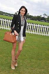 RACHEL THOMAS at the Cartier Queen's Cup Polo Final, Guards Polo Club, Windsor Great Park, Berkshire, on 17th June 2012.