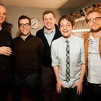 Adam Conover, Jared Logan, Jeff Rubin, New York City PodFest - Jan 12, 2013 - The PIT