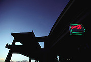 San Francisco, California. Embarcadero Freeway.