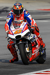 February 6, 2019 - Sepang, SGR, U.S. - SEPANG, SGR - FEBRUARY 06:  Jack Miller of Alma Pramac Racing in action during the first day of the MotoGP official testing session held at Sepang International Circuit in Sepang, Malaysia. (Photo by Hazrin Yeob Men Shah/Icon Sportswire) (Credit Image: © Hazrin Yeob Men Shah/Icon SMI via ZUMA Press)