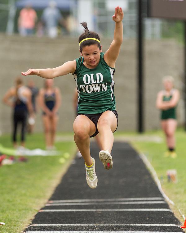 Maine State Track & Field Meet, Class B: girls long jump, Old Town