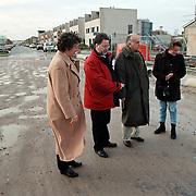 VVD fractie Huizen bezoekt het Vierde Kwadrant om te kijken naar problemen