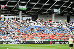 Fans of Slovenia during the EURO 2016 Qualifier Group E match between Slovenia and England at SRC Stozice on June 14, 2015 in Ljubljana, Slovenia. Photo by Mario Horvat / Sportida