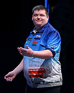 Ben Hazel during the BDO World Professional Championships at the O2 Arena, London, United Kingdom on 5 January 2020.