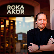 """Scottsdale's Roka Akor features Robatayaki style """"open charcoal"""" cuisine. They specialize in prime steak and sushi and were voted one of the Top 10 Sushi Spots in the United States by Bon Appetit. Pictured is executive chef Jason Alford...Roka Akor is located at 7299 North Scottsdale Road  Paradise Valley, AZ 85253"""