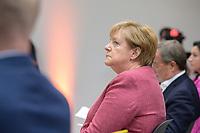 "06 SEP 2021, BERLIN/GERMANY:<br /> Angela Merkel, CDU, Bundeskanzlerin, Veranstaltung ""Digitalimpulse - #c: digitally united"", Konrad-Adenauer-Haus<br /> IMAGE: 20210906-02-012"