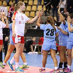 HBALL: 20-3-2016 - Denmark - Uruguay - Olympic Qualification