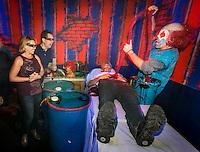 At Universal Studios Hollywood Halloween Horror Nights. Photo by David Sprague