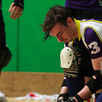 Lincolnshire Rolling Thunder take on The Inhuman League in the Tier 1 Mens British Champs at Castle Leisure Centre, Bury, 2017-05-06