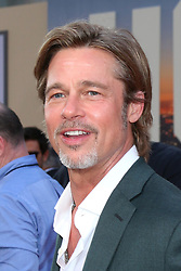 July 22, 2019 - Los Angeles, CA, USA - LOS ANGELES - JUL 22:  Brad Pitt at the ''Once Upon a Time in Hollywood'' Premiere at the TCL Chinese Theater IMAX on July 22, 2019 in Los Angeles, CA (Credit Image: © Kay Blake/ZUMA Wire)