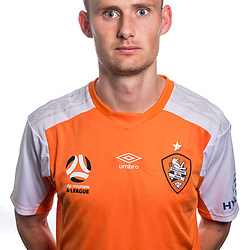 BRISBANE, AUSTRALIA - SEPTEMBER 16: Daniel Bowles poses for a photo During a Hyundai A-League Brisbane Roar headshot photo session on September 16, 2017 in Brisbane, Australia. (Photo by Brisbane Roar / Patrick Kearney)