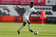 Kyle Naughton of Swansea city in action. Swansea city v Sampdoria , pre-season friendly at the Liberty Stadium in Swansea, South Wales on Saturday August 5th 2017.<br /> pic by Andrew Orchard, Andrew Orchard sports photography.