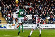 Man of the Match Simeon Jackson of St Mirren on his debut during the Ladbrokes Scottish Premiership match between St Mirren and Hibernian at the Simple Digital Arena, Paisley, Scotland on 29th September 2018.
